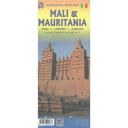 Mauritania & Mali Travel Map